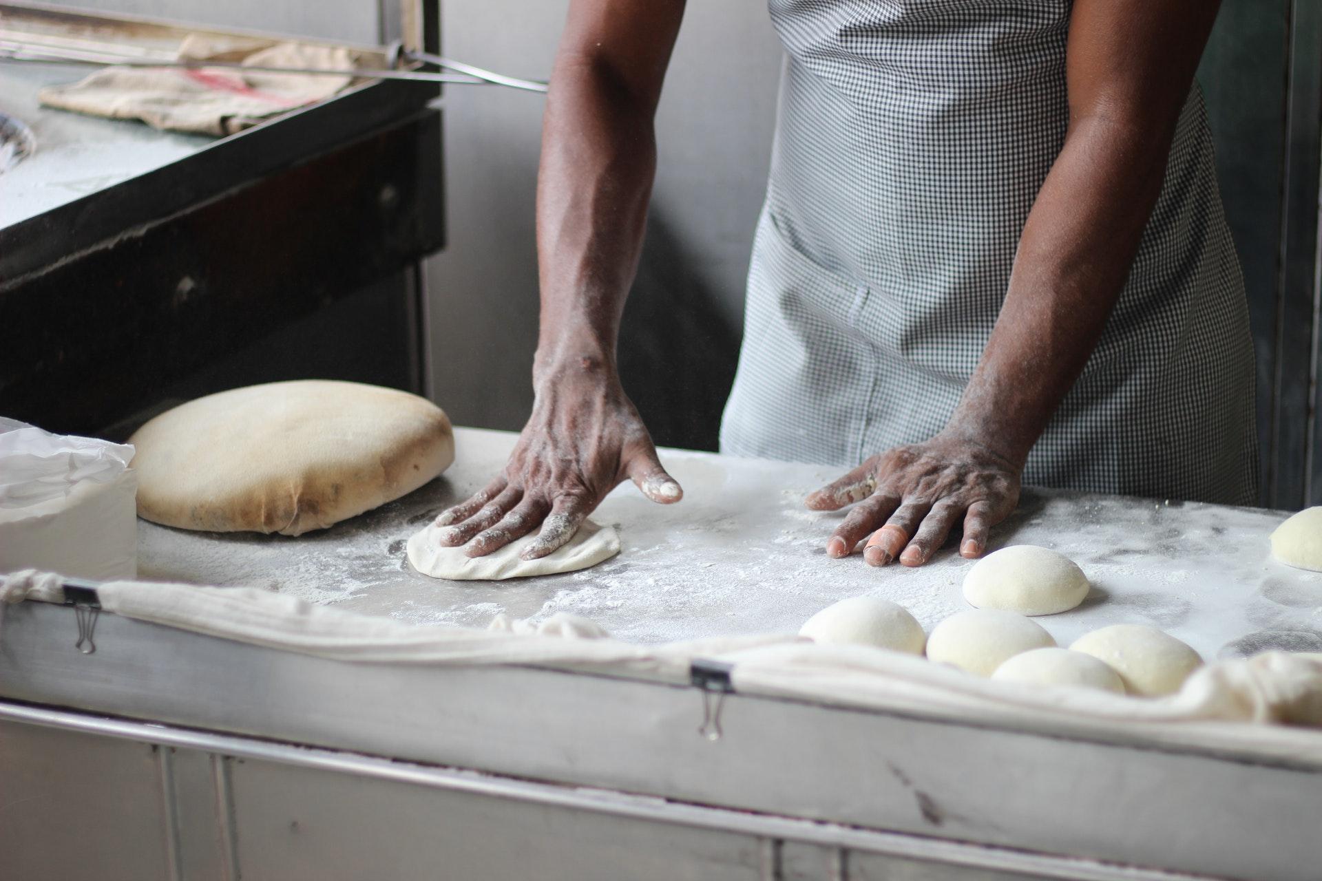 le travail de la pâte à pain est un art